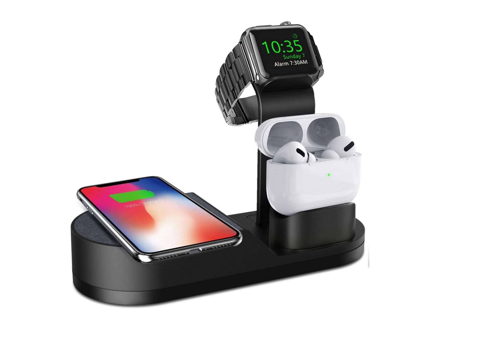 Wireless Phone and Watch Charging Stand