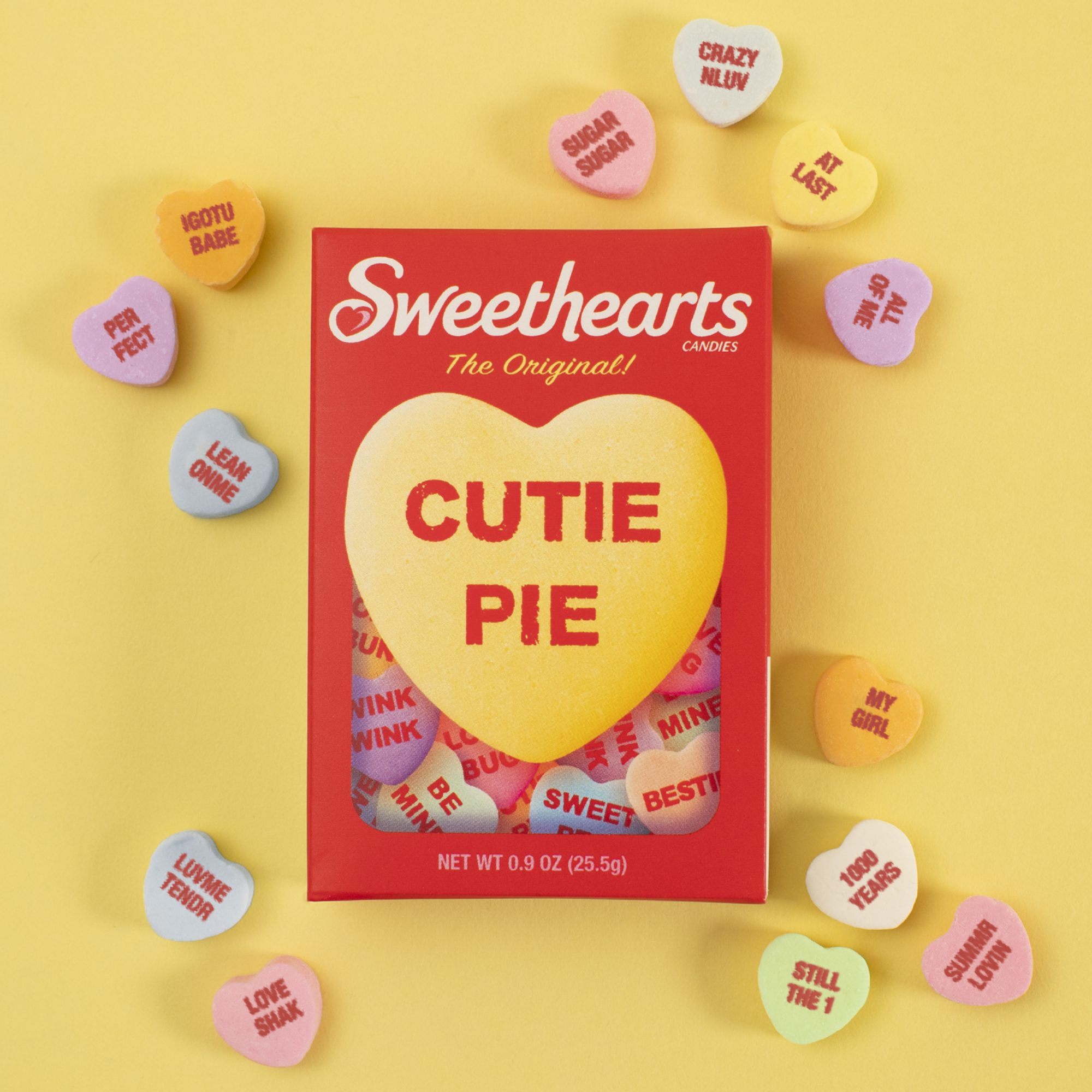 Sweethearts Candies Unveils New Sayings Inspired by Classic Love Songs