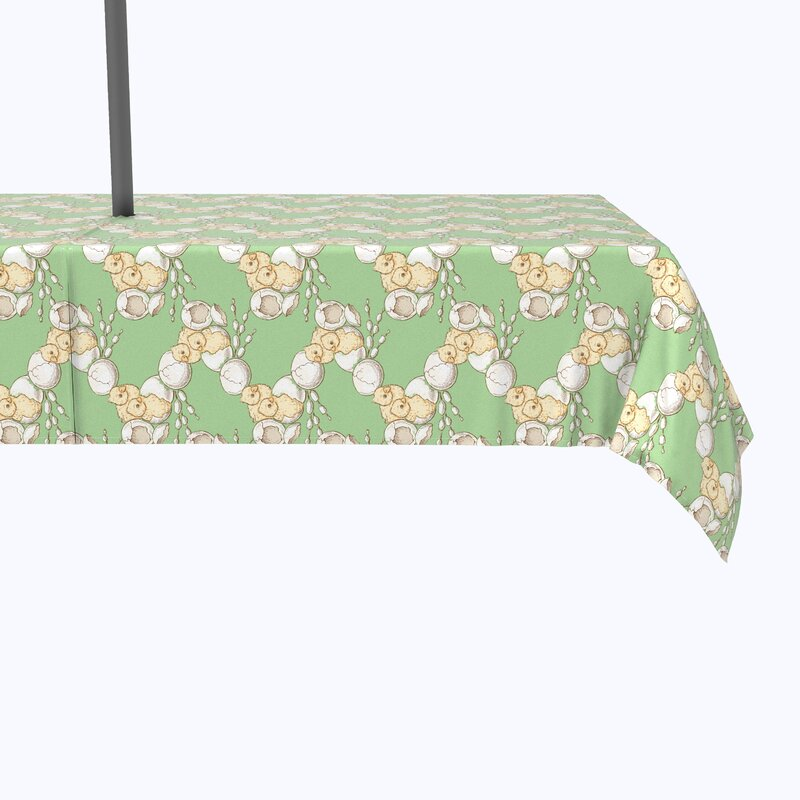 Geometric Easter Tablecloth