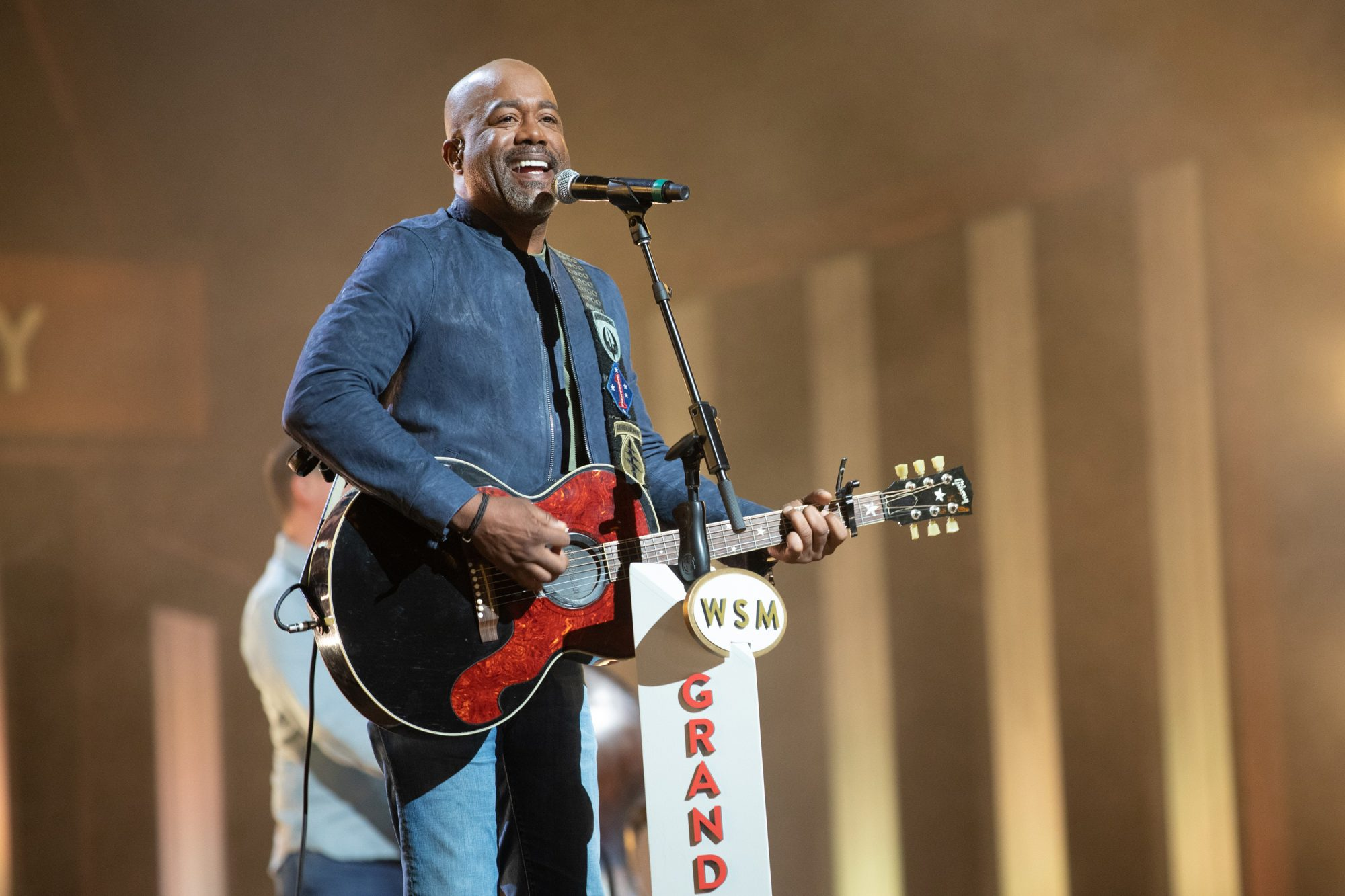 Chris Hollo for the Grand Ole Opry Darius Rucker