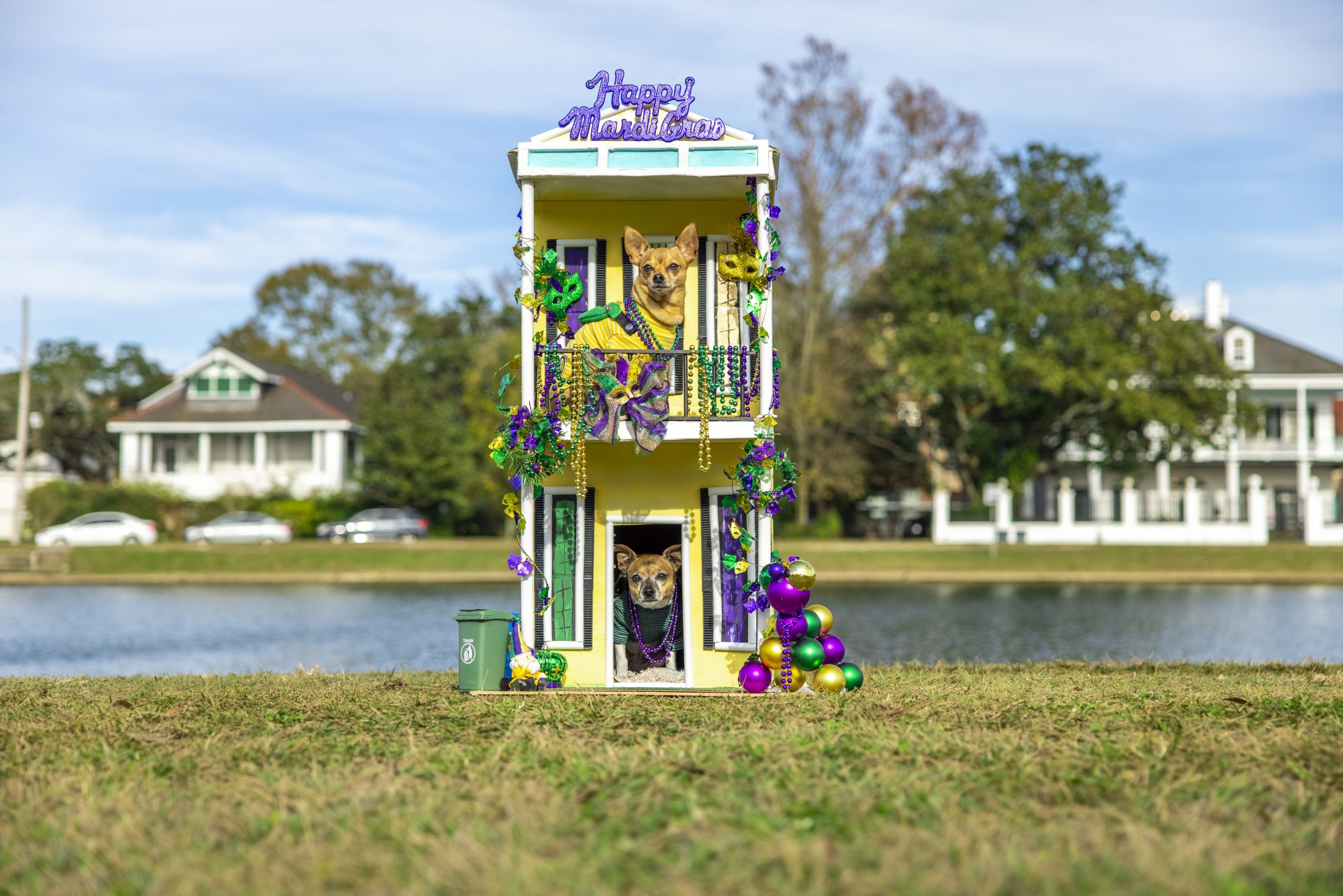 Dog House Float