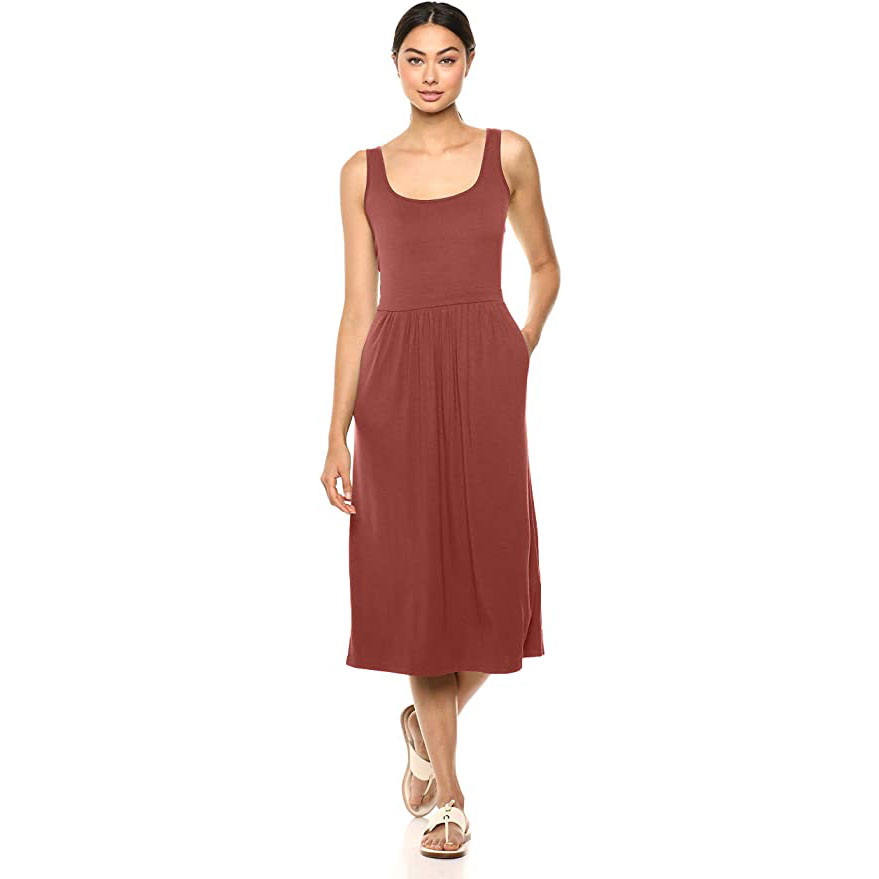 Women's Jersey Sleeveless Tank Dress