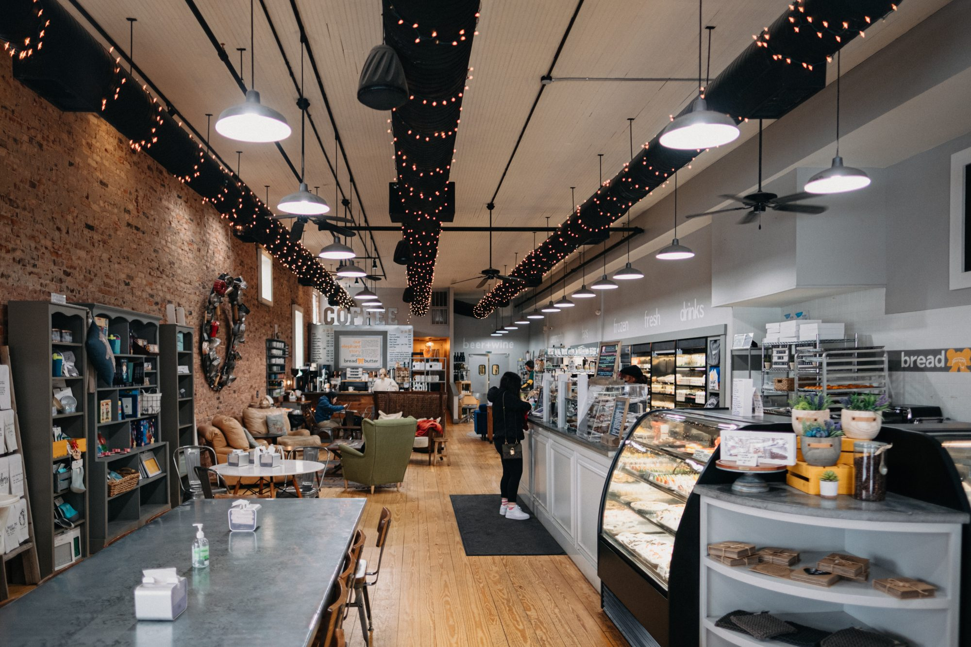 Bread and Butter Bakery + Cafe Counter