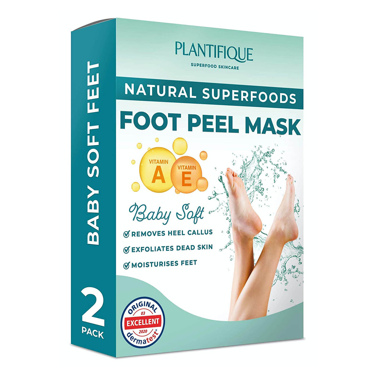 Plantifique Foot Peel Mask