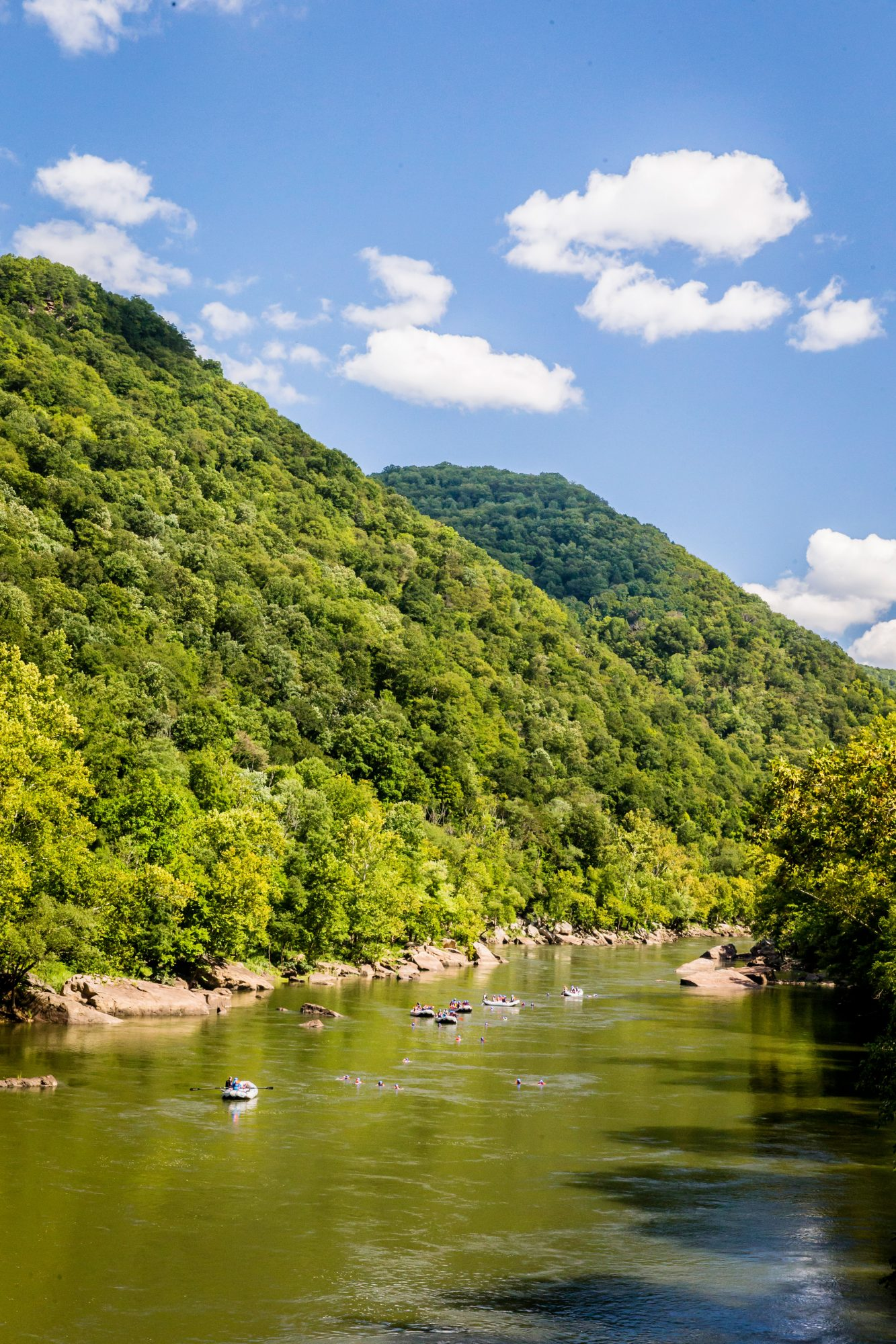 West Virginia's Gauley and New River Adventures
