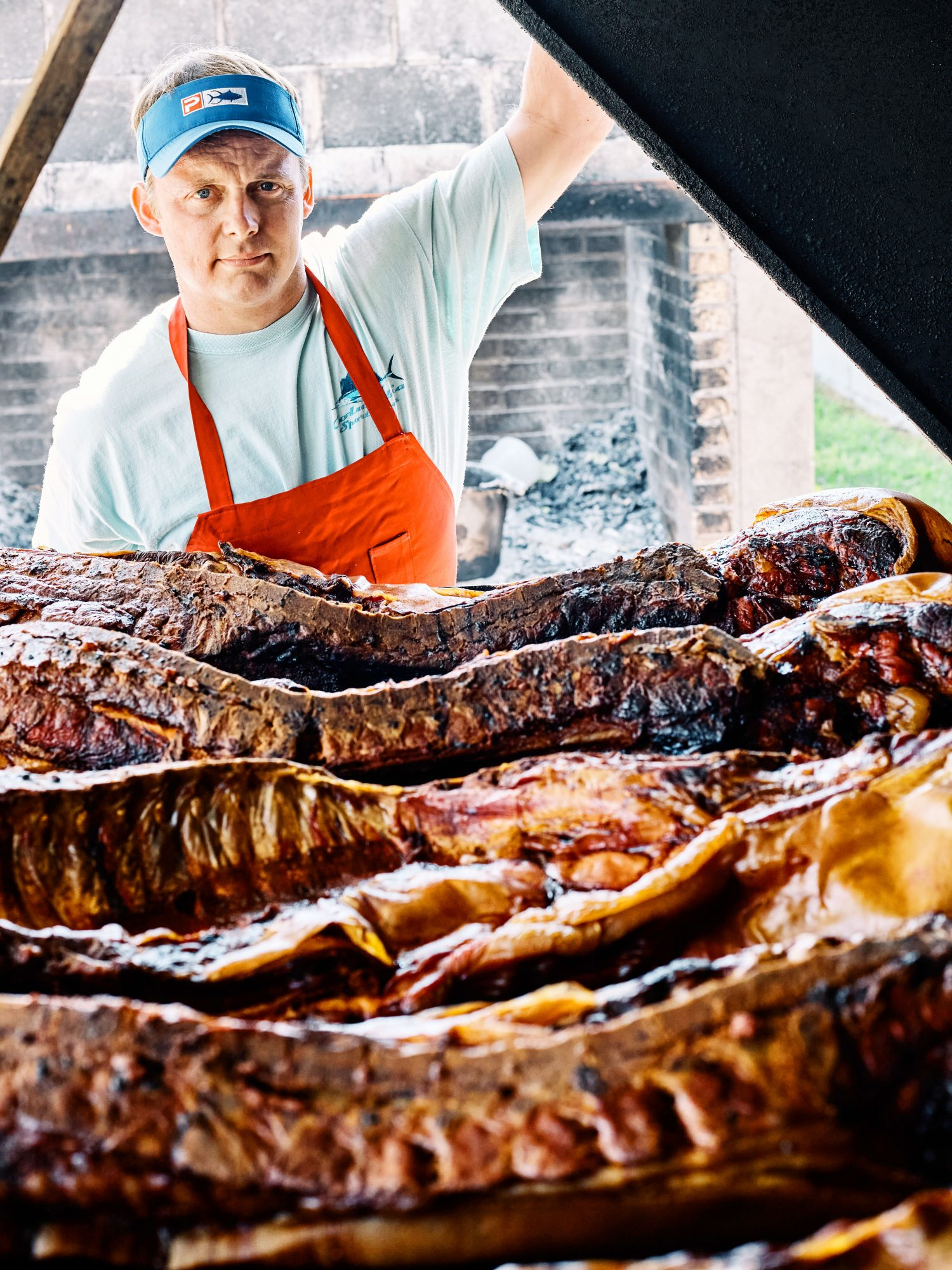 Arnie McCabe of McCabe's Bar-B-Q