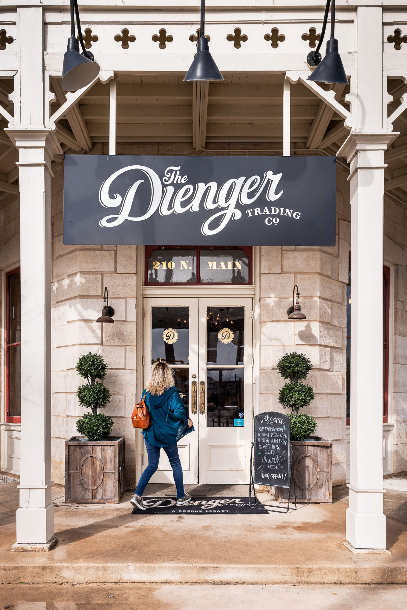 Boerne, Texas: The Dienger Trading Co.