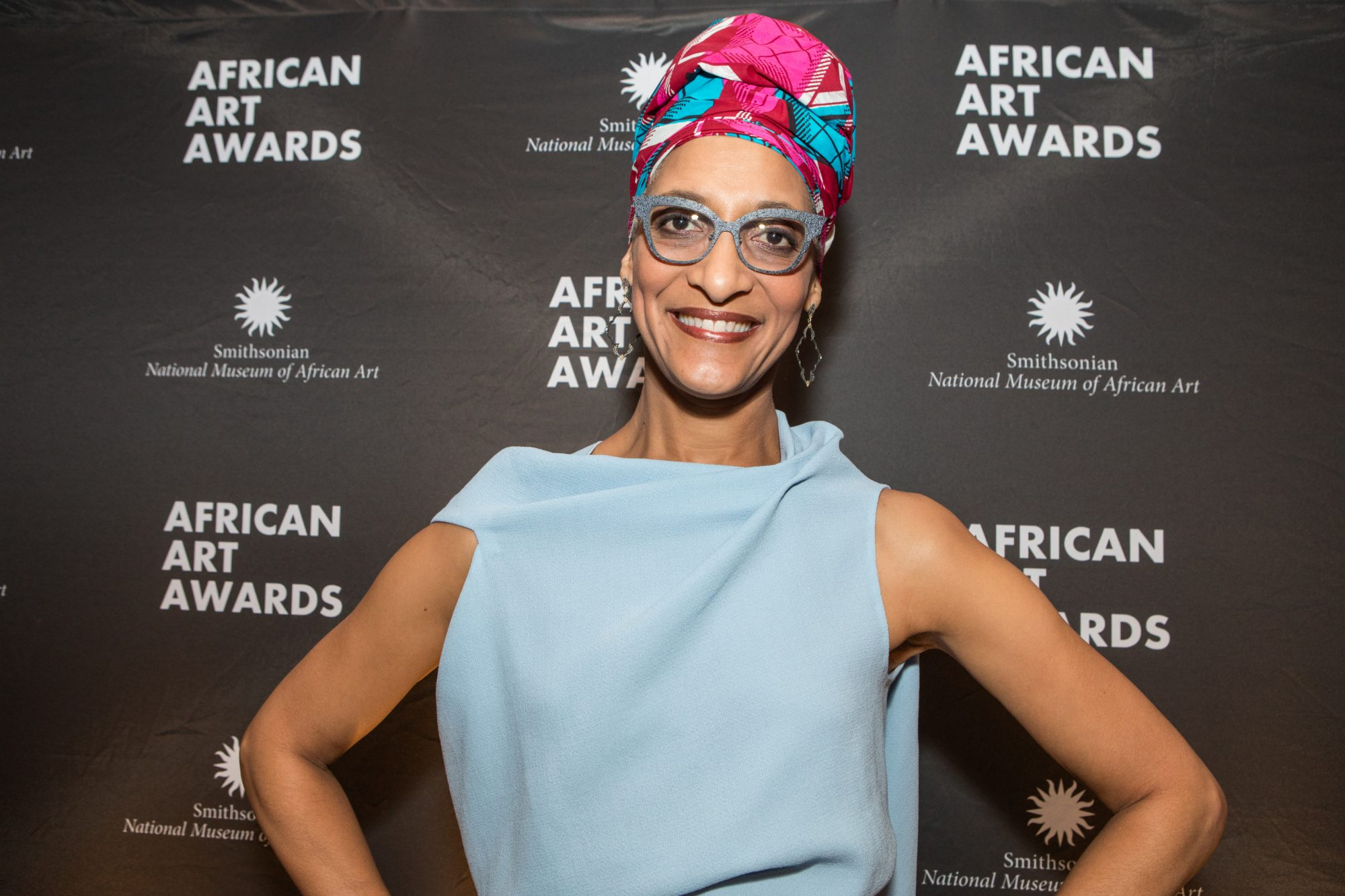 Carla Hall Smithsonian National Museum of African Art's 2nd annual African Art Awards Dinner