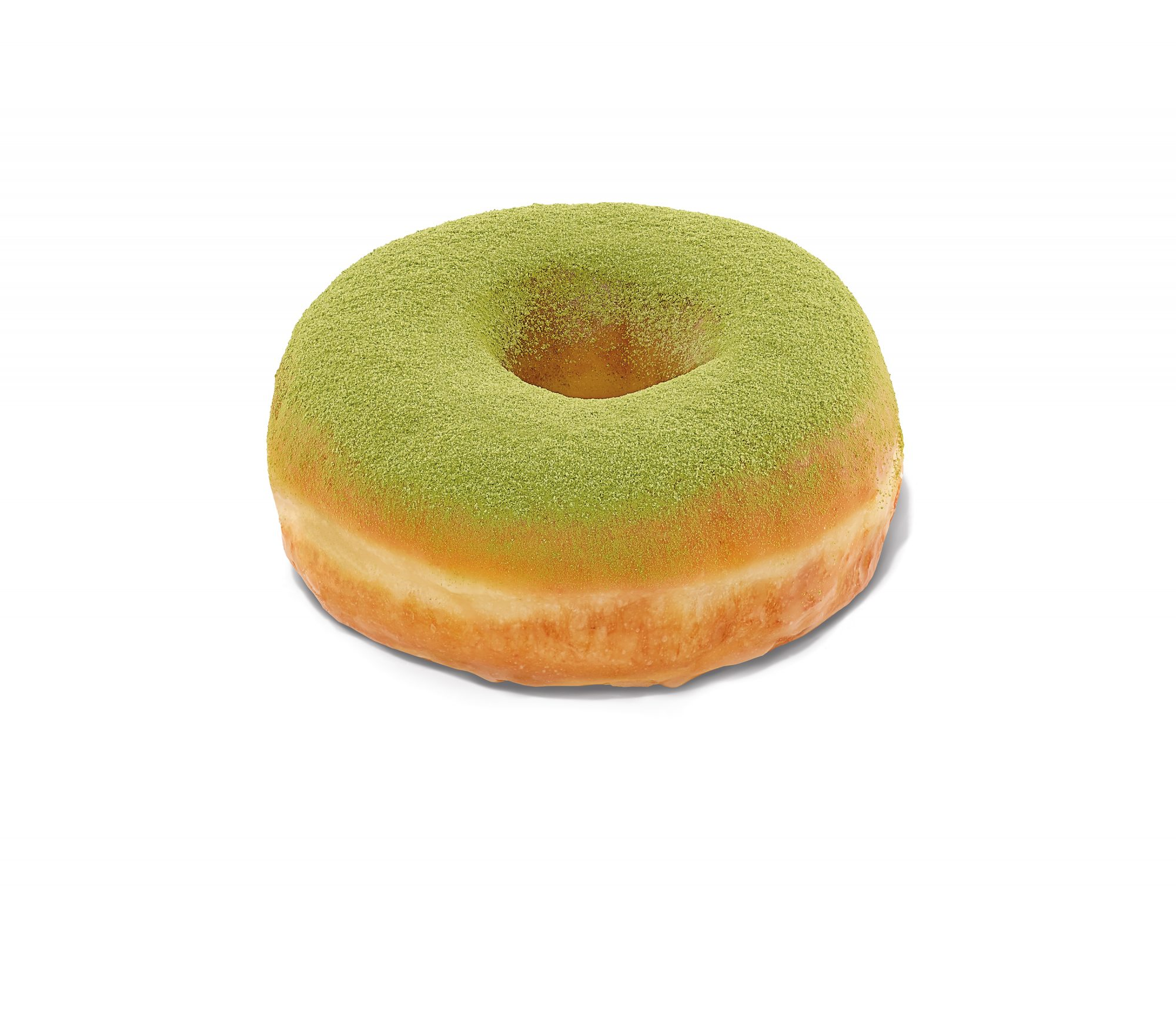 Matcha Topped Donut