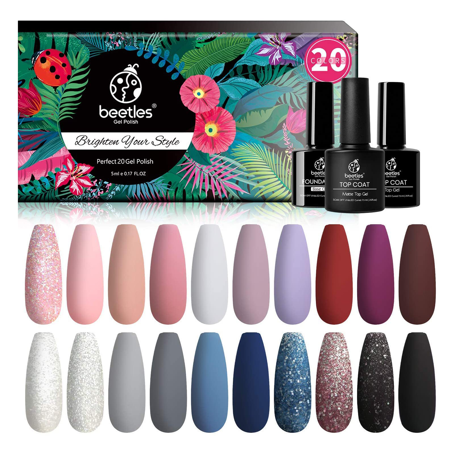 Beetles Modern Muse Gel Nail Polish Kit