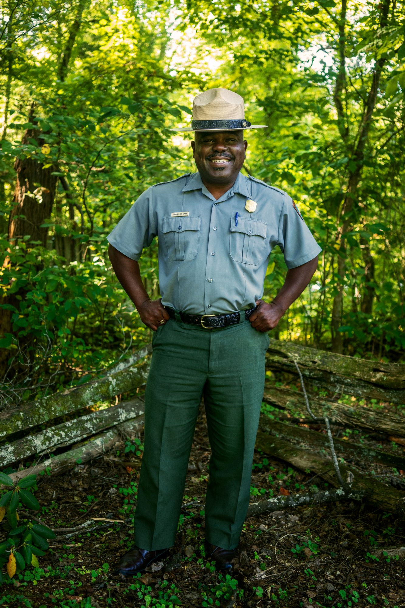Great Smoky Mountain National Park superintendent Cassius Cash