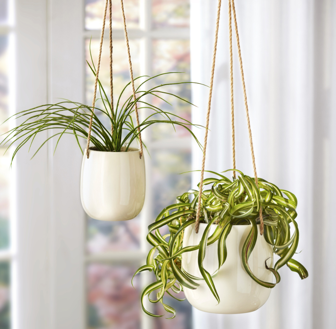 The Lakeside Collection Hanging Ceramic Planter