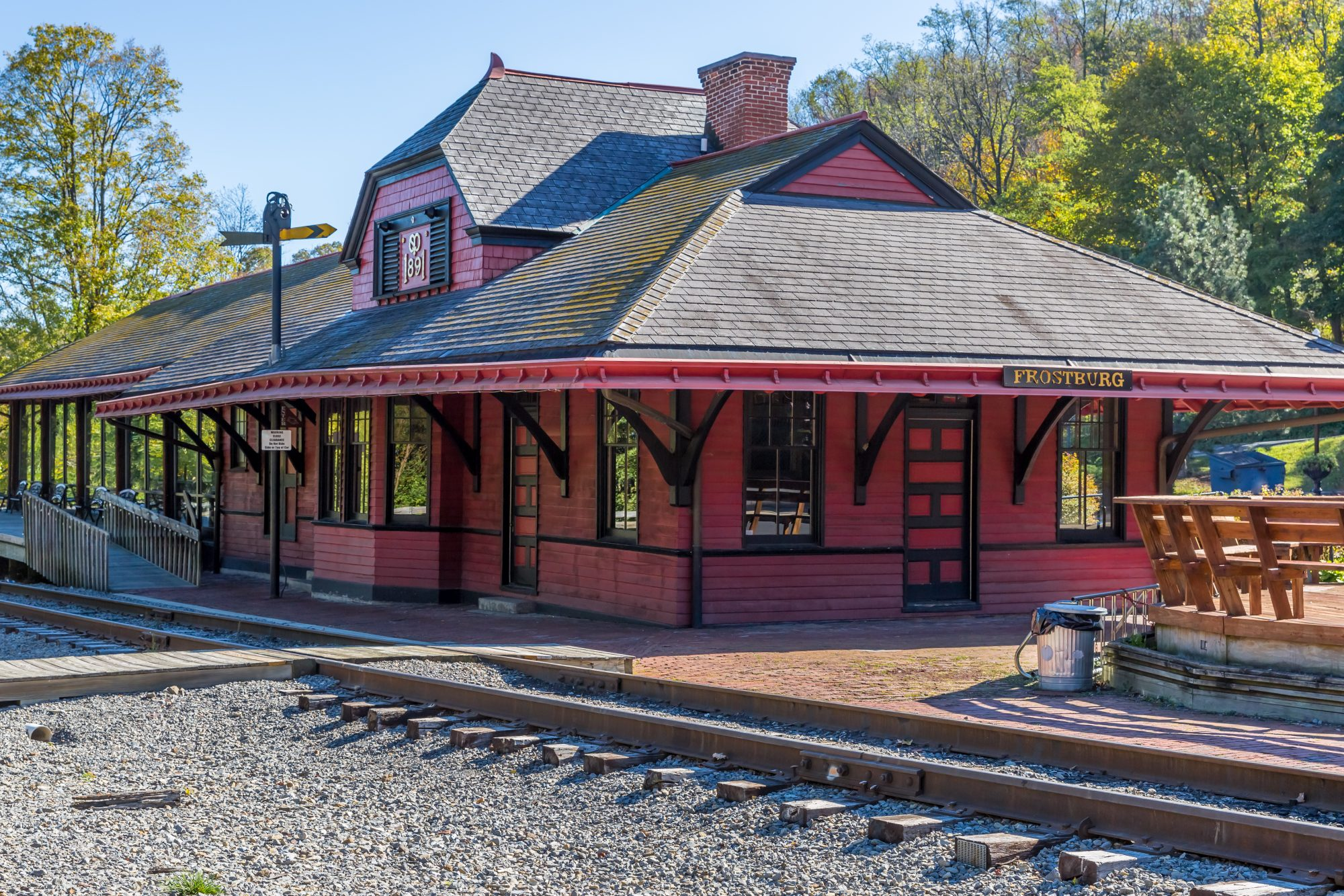 Frostburg Maryland Train Depot