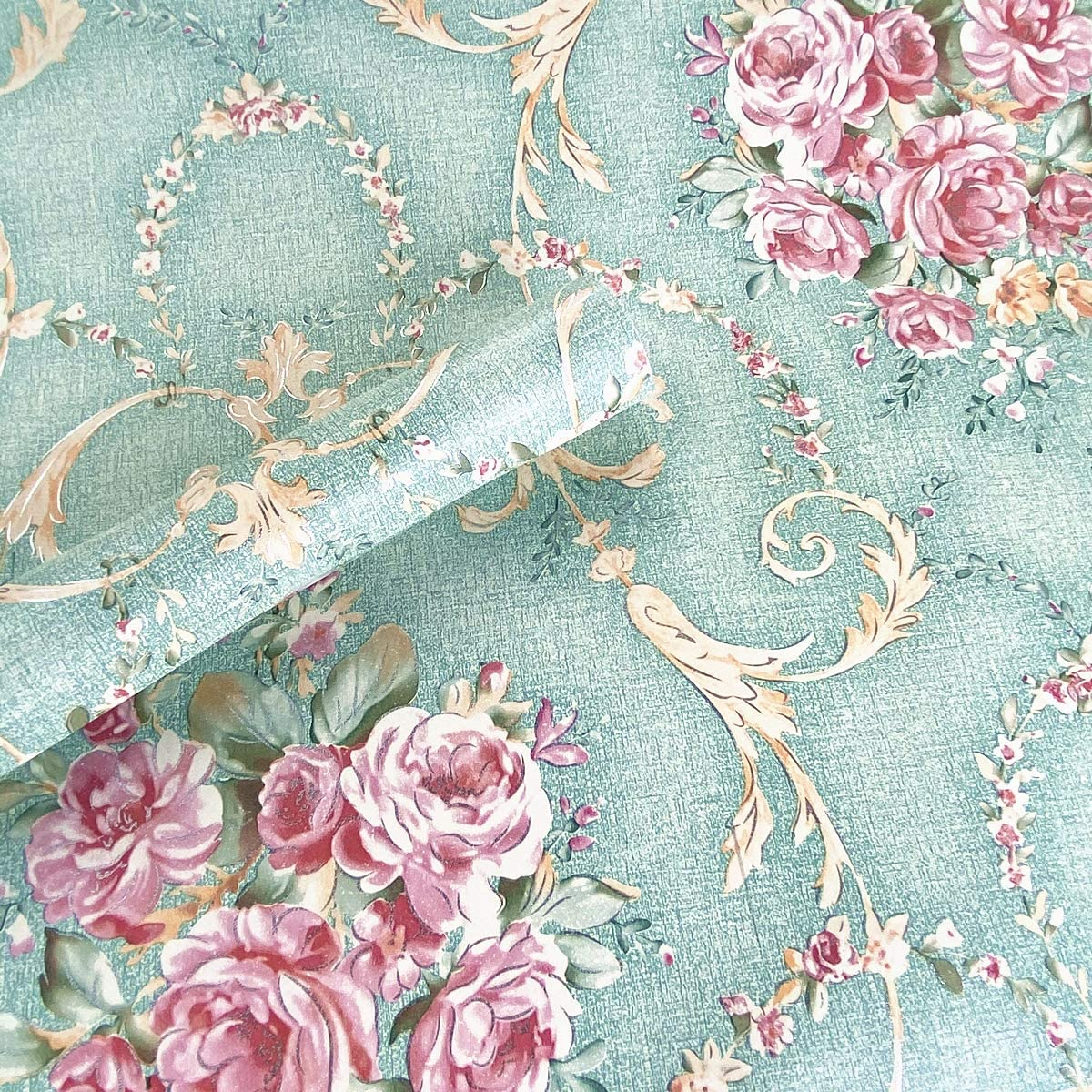 Dainty Floral Vintage Peel and Stick Wallpaper