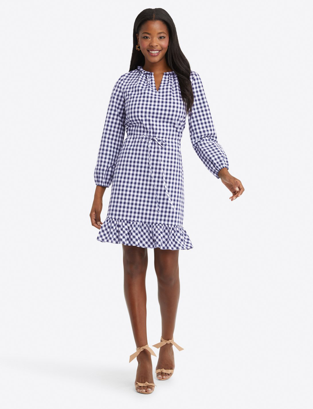 Draper James Gingham Dress
