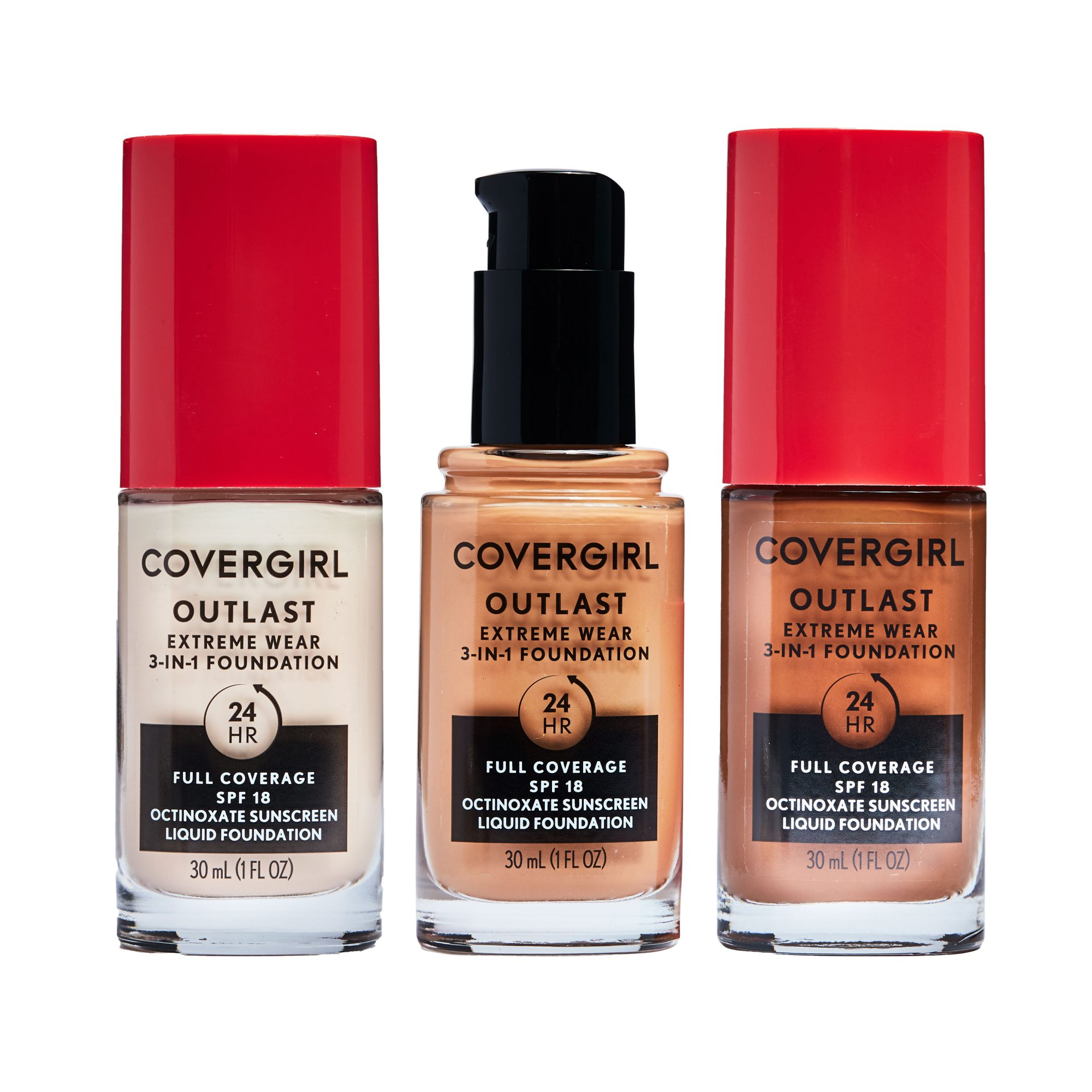Covergirl Outlast Extreme Wear 3-in-1 Full Coverage Foundation