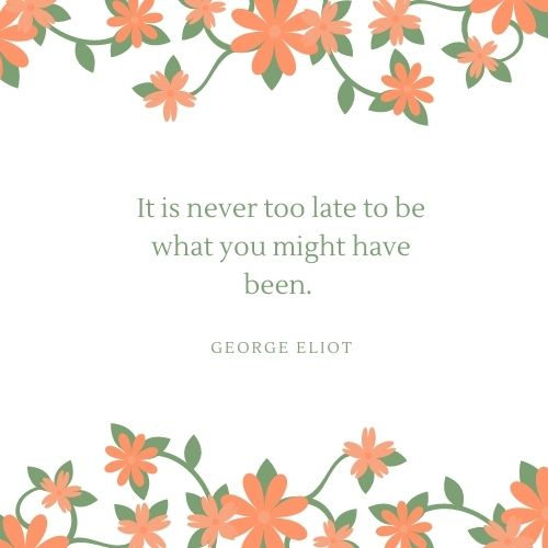 George Eliot May Quote