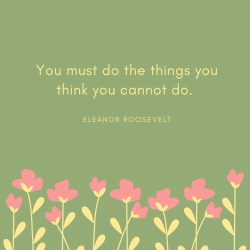 Eleanor Roosevelt May Quote