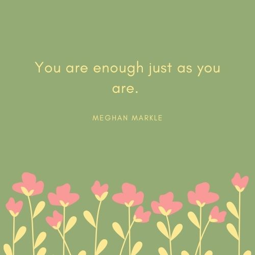 Meghan Markle May Quote