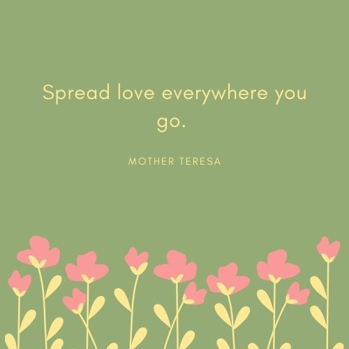 Mother Teresa May Quote