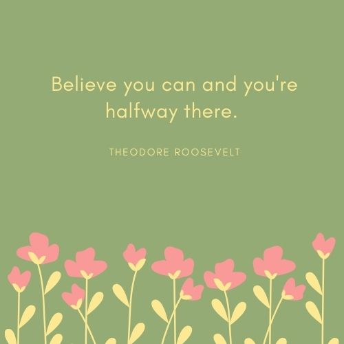 Theodore Roosevelt May Quote