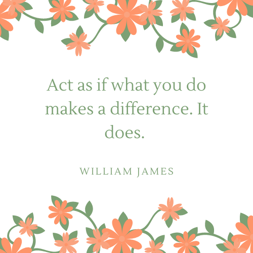 William James May Quote