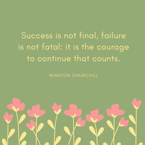 Winston Churchill May Quote