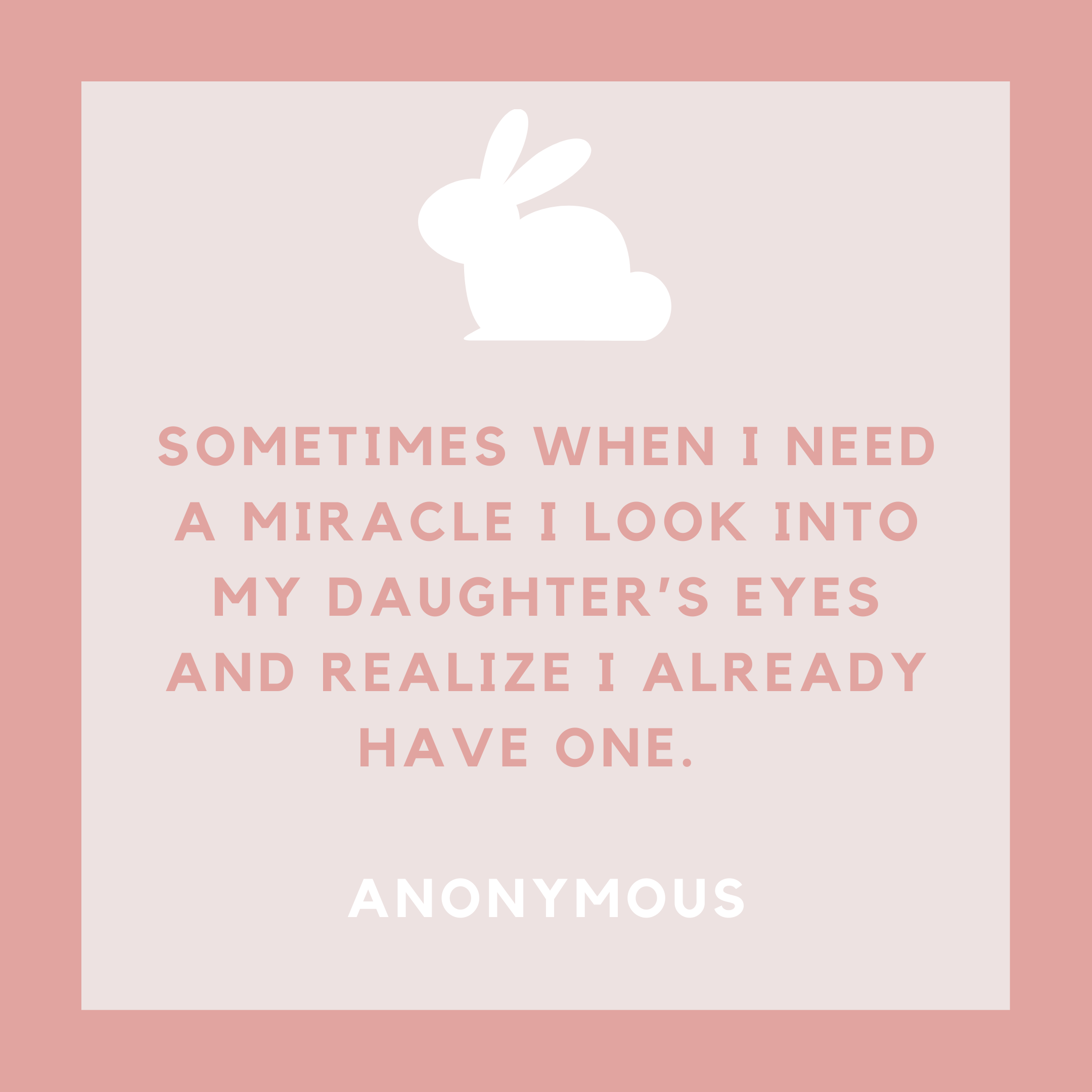 Baby Girl Miracle Quote