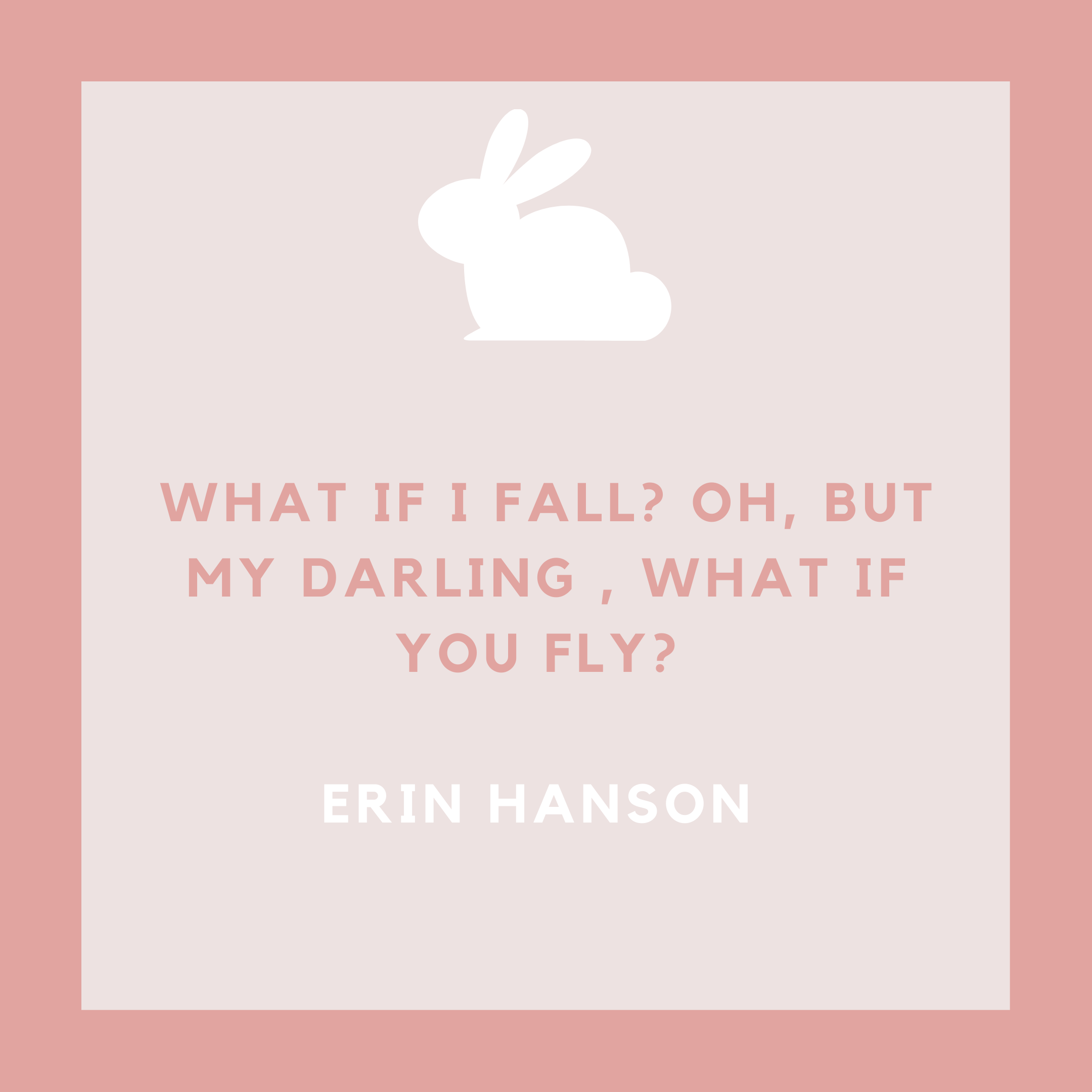 Erin Hanson Baby Girl Quote About Flying