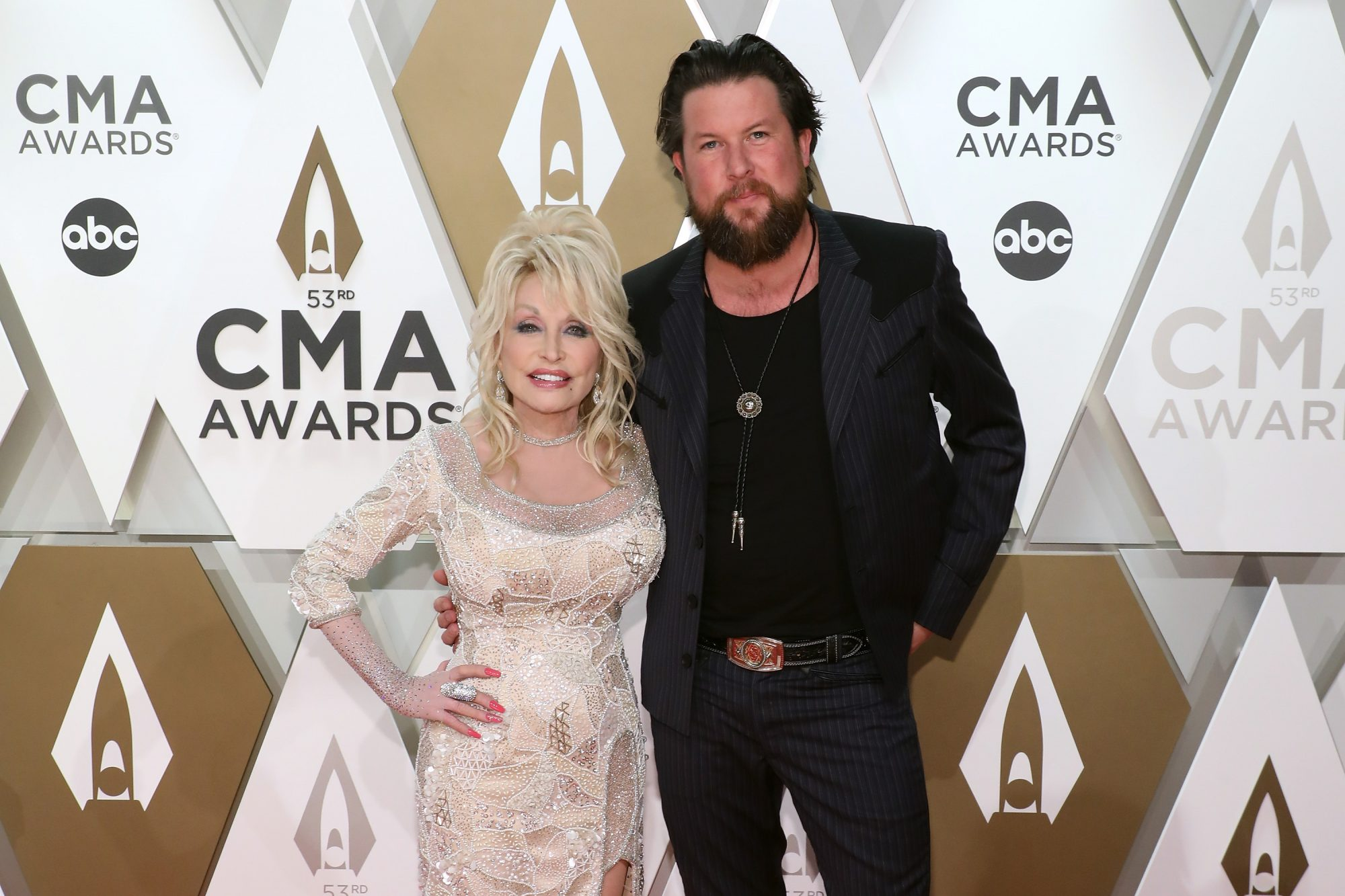 Dolly Parton and Zach Williams