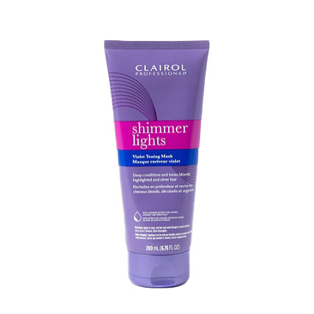 Shimmer Lights Violet Toning Mask