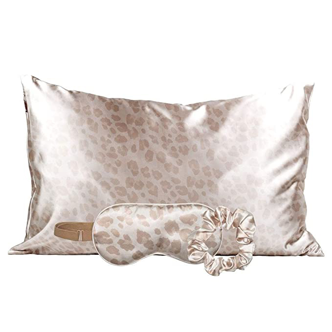 Leopard Silk Sleep Set