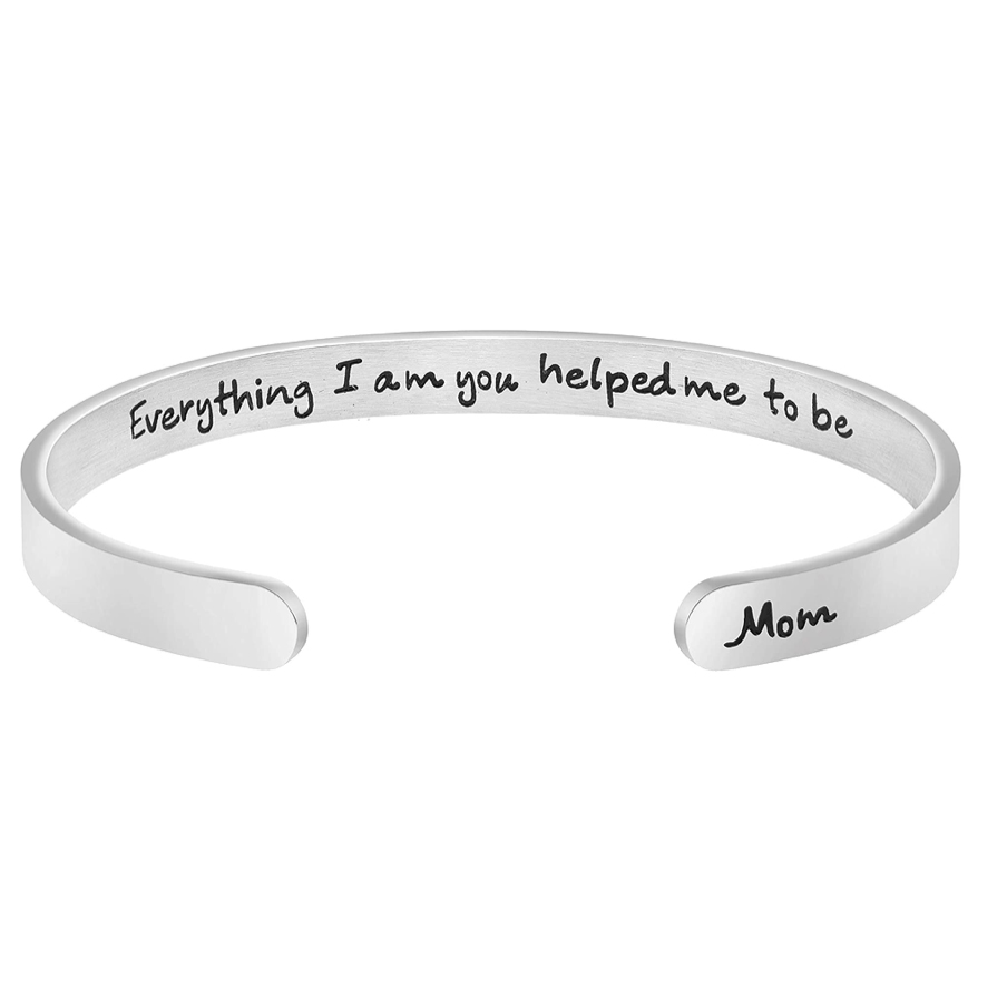 Mom Engraved Bracelet