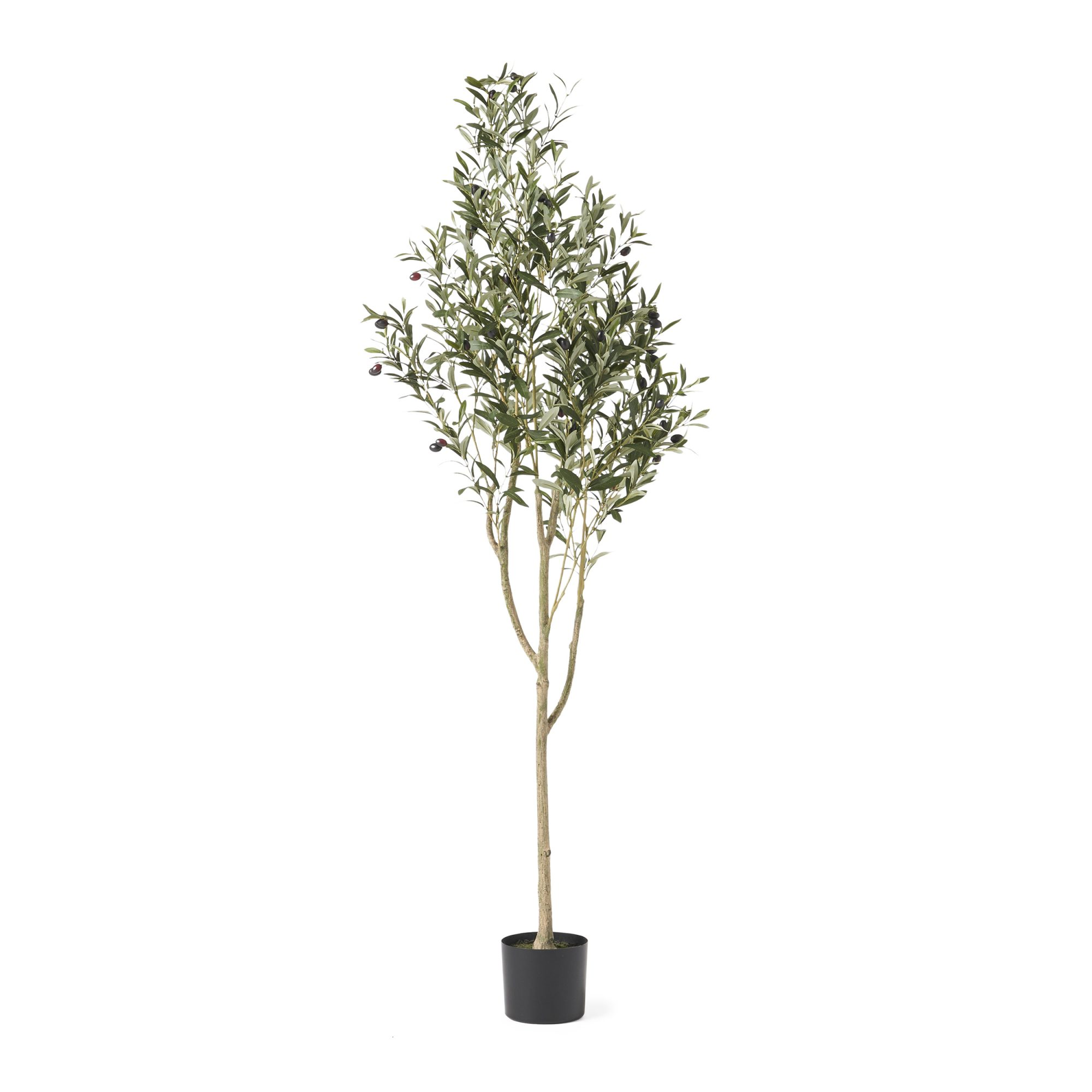 Artificial Olive Tree in Pot_Wayfair 01