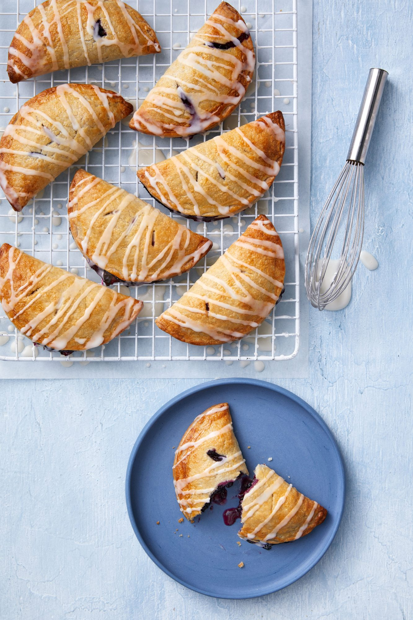 Blueberry-Lavender Hand Pies