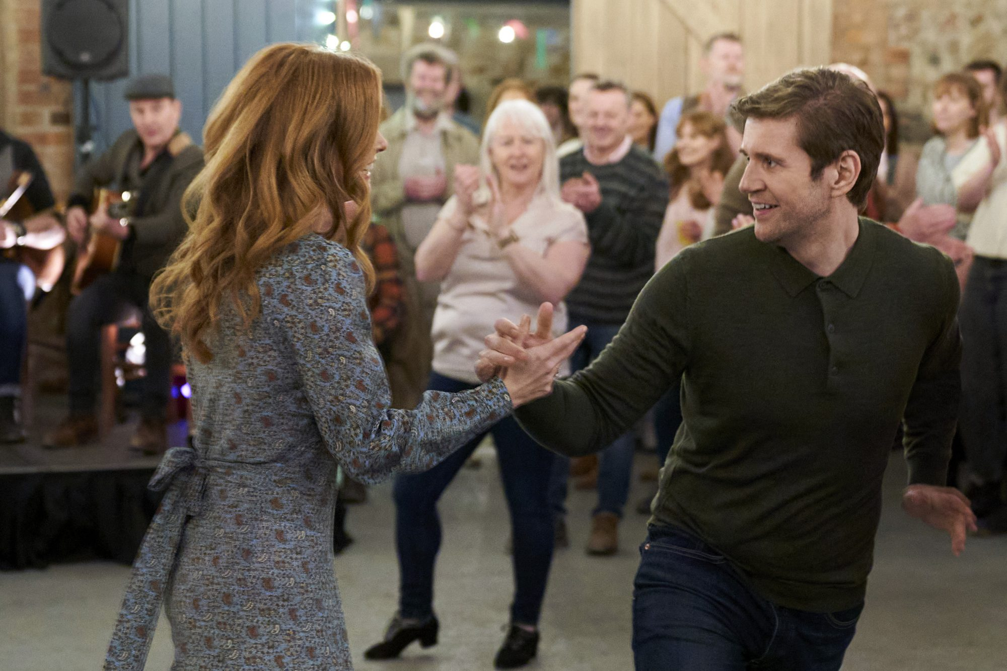 As Luck Would Have It Allen Leech and Joanna Garcia Swisher
