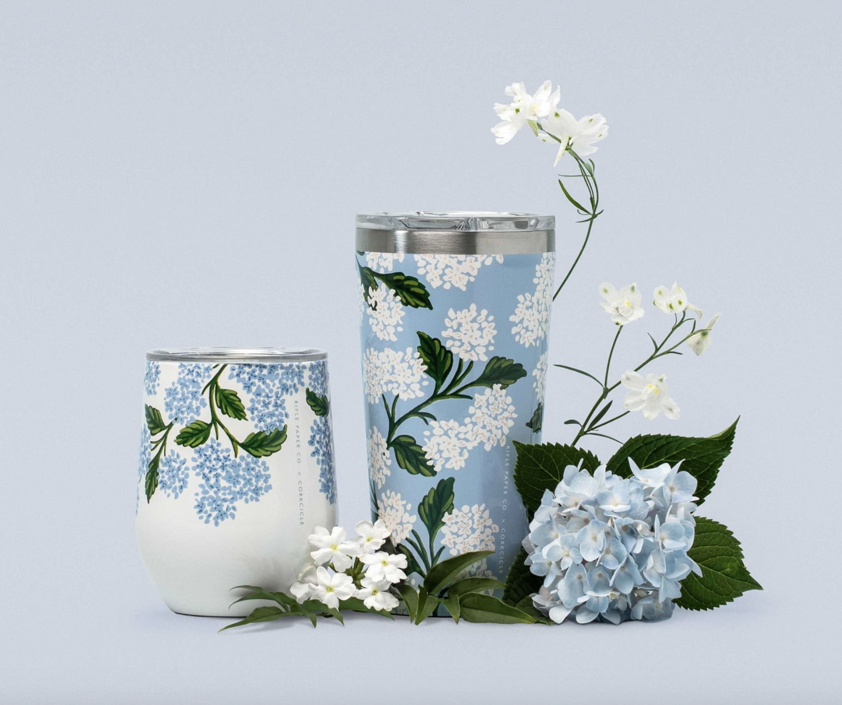 Rifle Paper Co. Hydrangea Drinkware