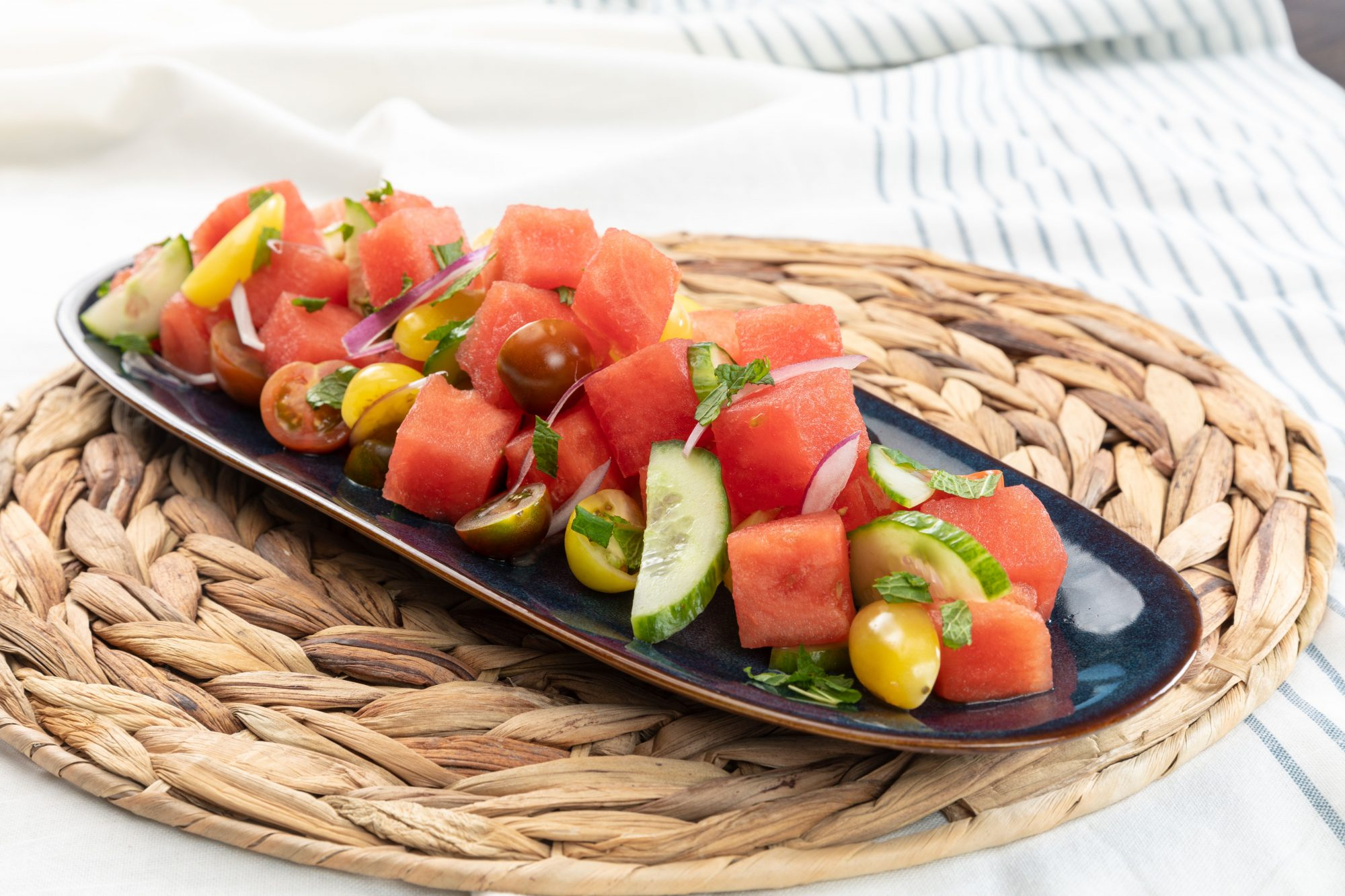 Tomato and Watermelon Salad Churchill Downs Racetrack