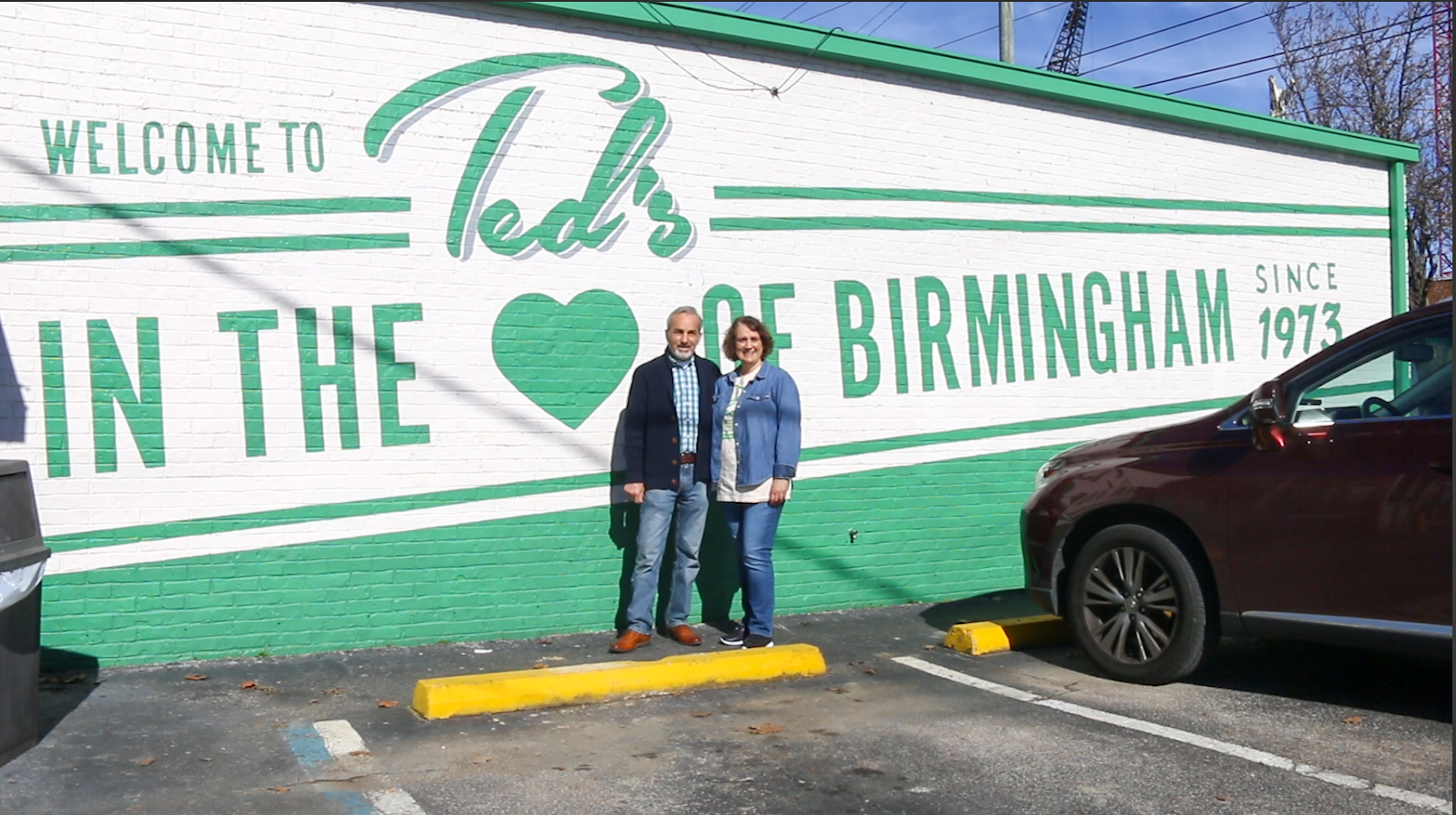 Beba and Tasos Touloupis of Ted's Restaurant in Birmingham, AL