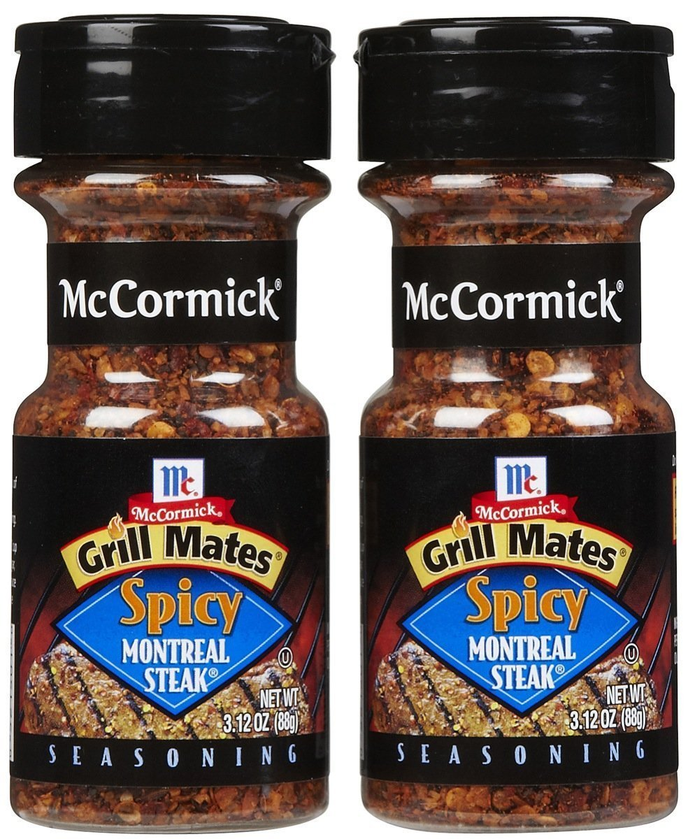 McCormick Grill Mates Spicy Montreal Steak Seasoning, Two Pack