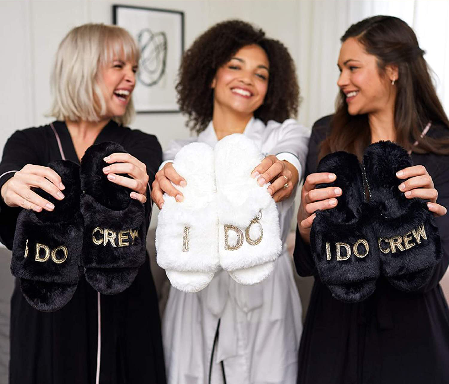 Bridal Slippers Tout