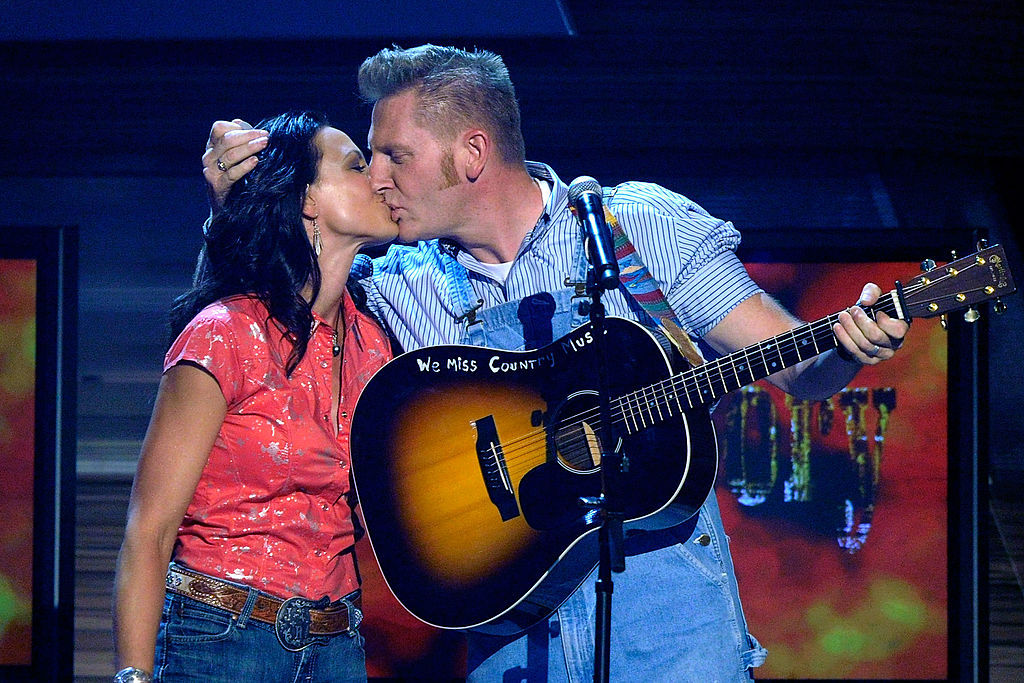 Joey and Rory Feek 45th Annual Academy of Country Music Awards - Show