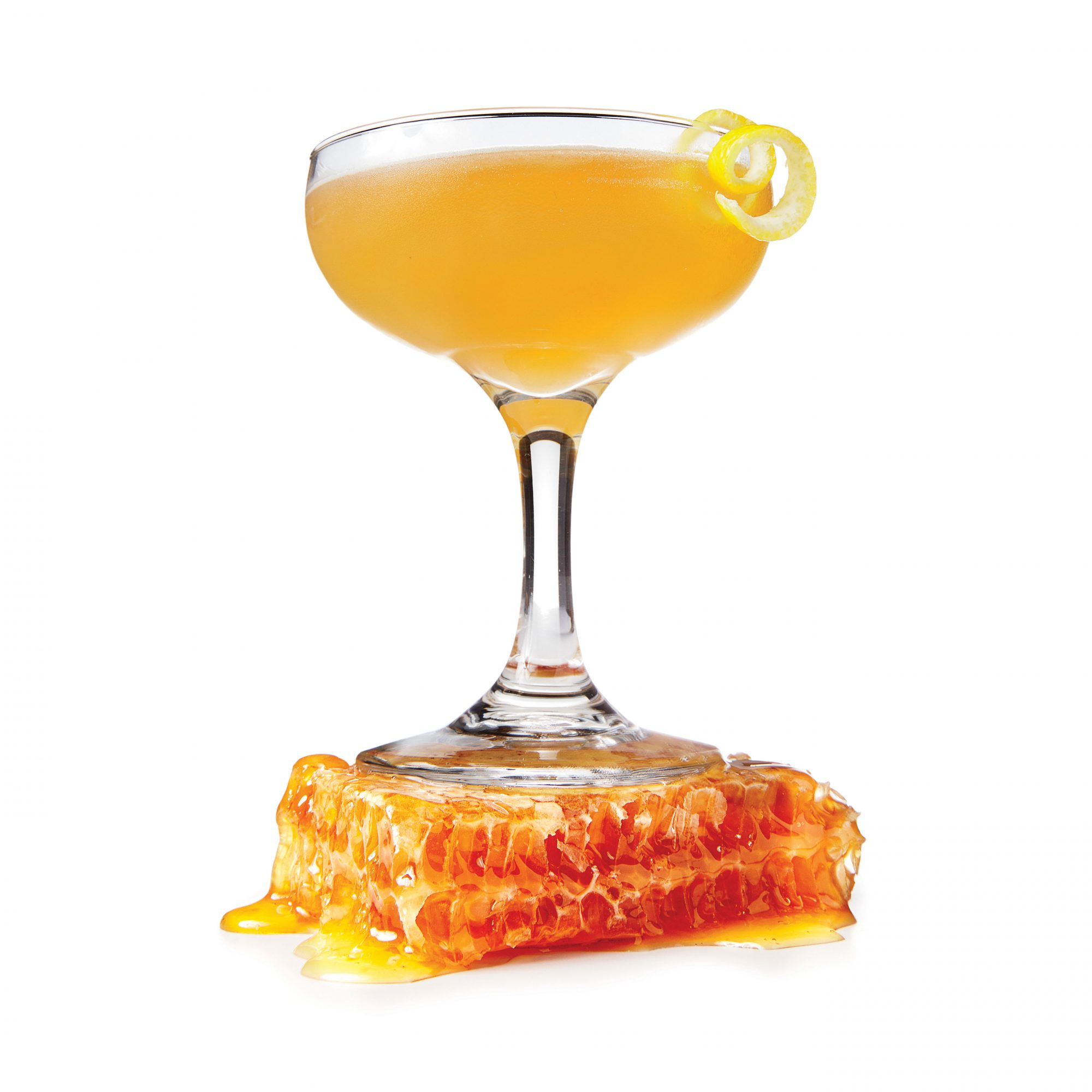 bees knees honey cocktail