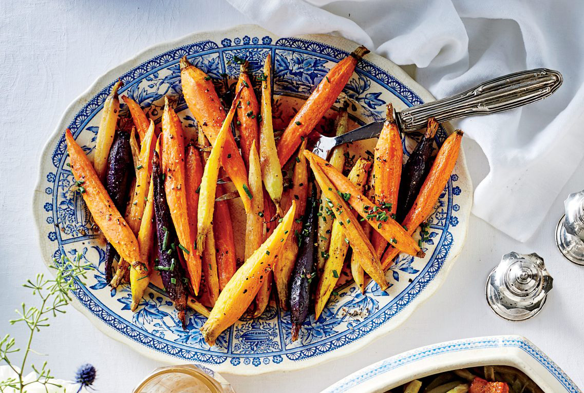 Honey Glazed Spiced Carrots