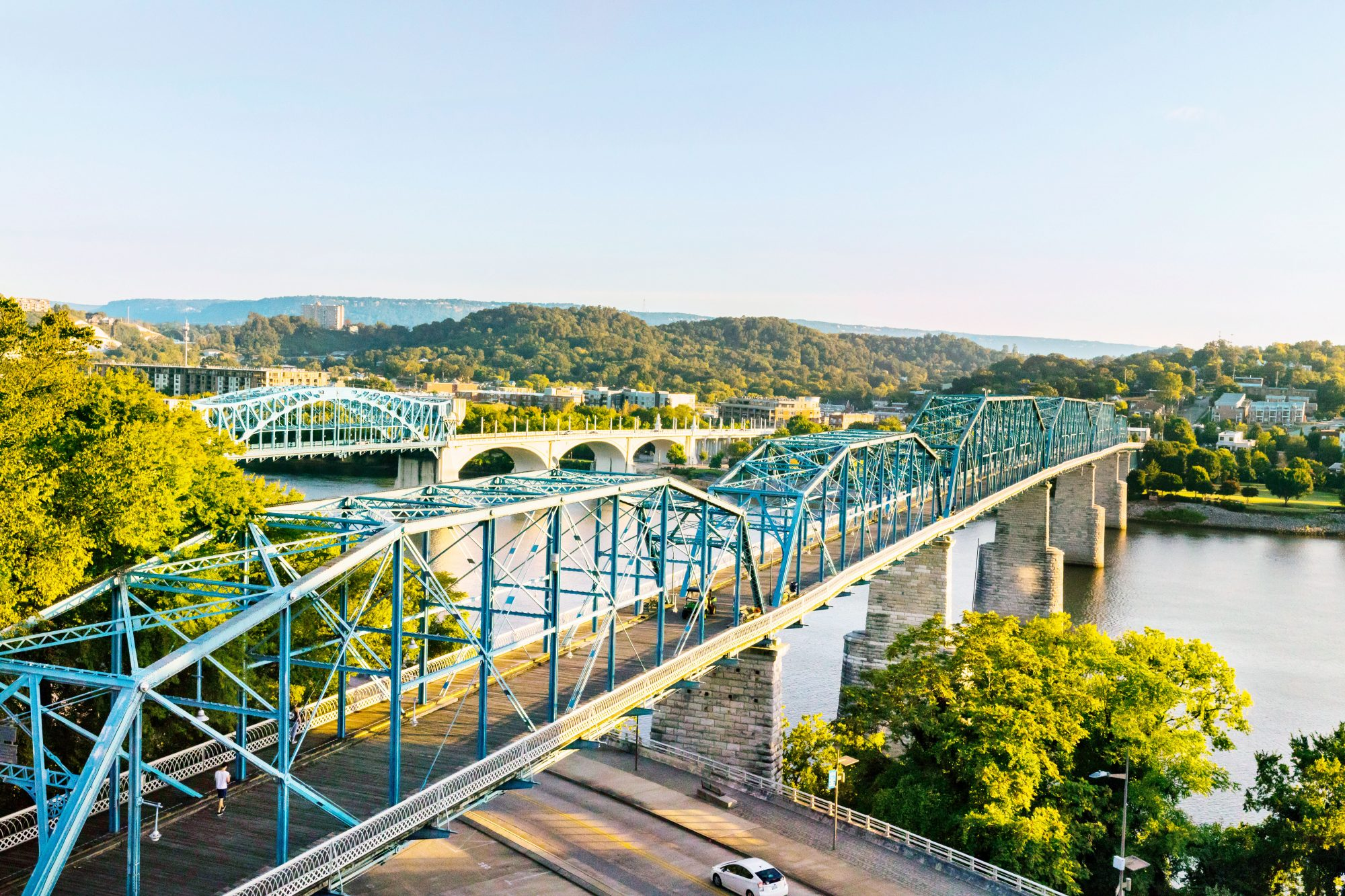 The Tennessee River in Chattanooga