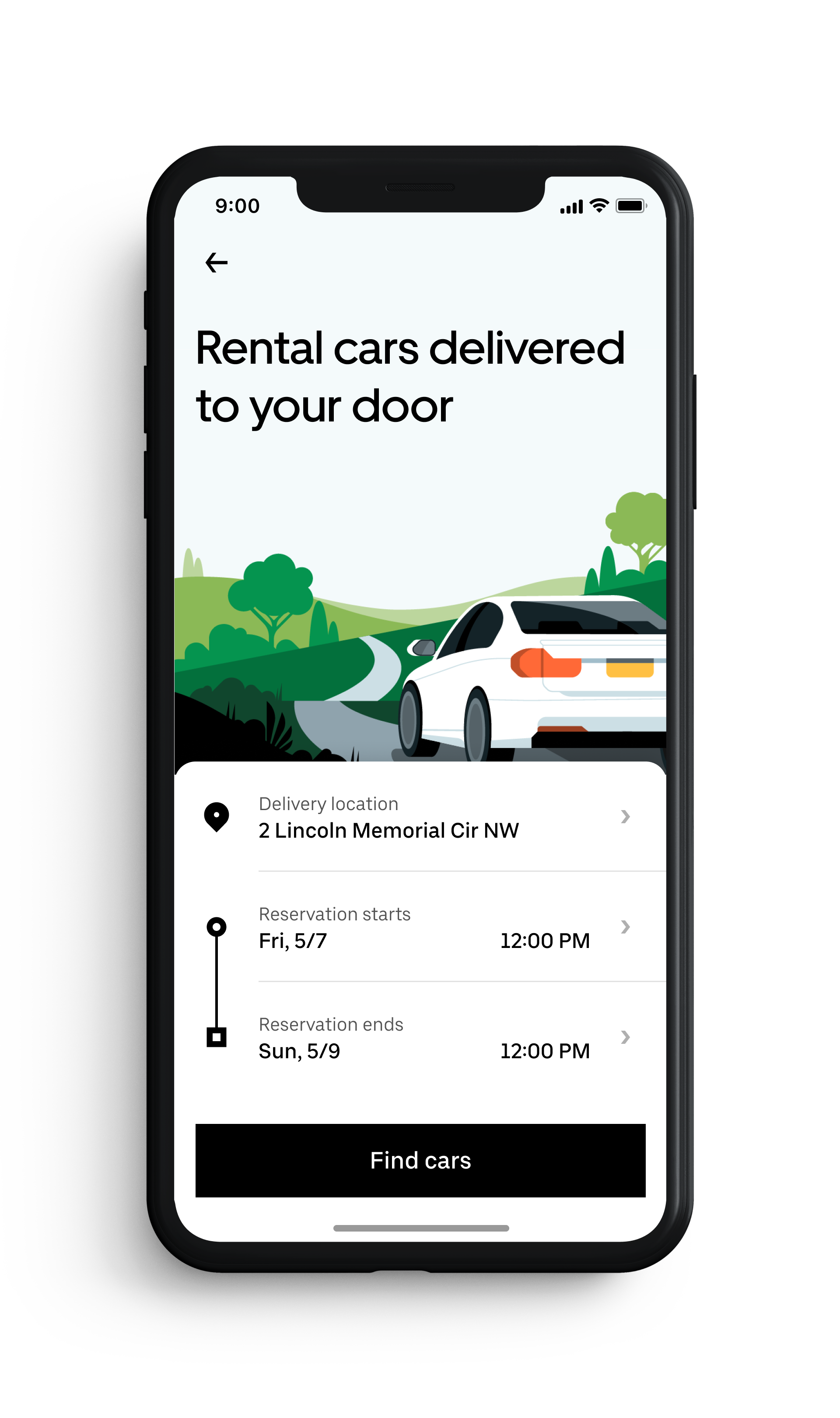 Rent with Valet