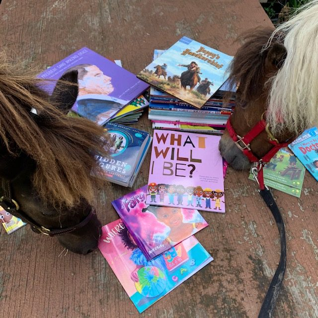 Saddle Up and Read horses and books