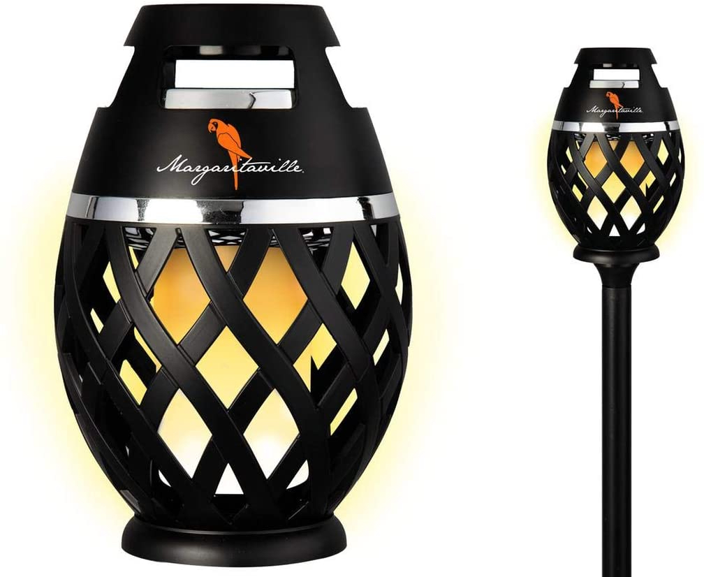 Sounds of Paradise Outdoor Tiki Torch Speaker