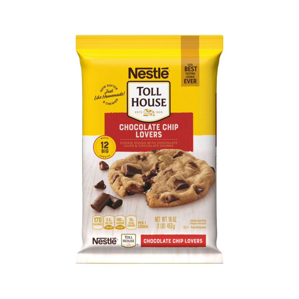 Nestle Tollhouse Chocolate Chip Lovers Cookies
