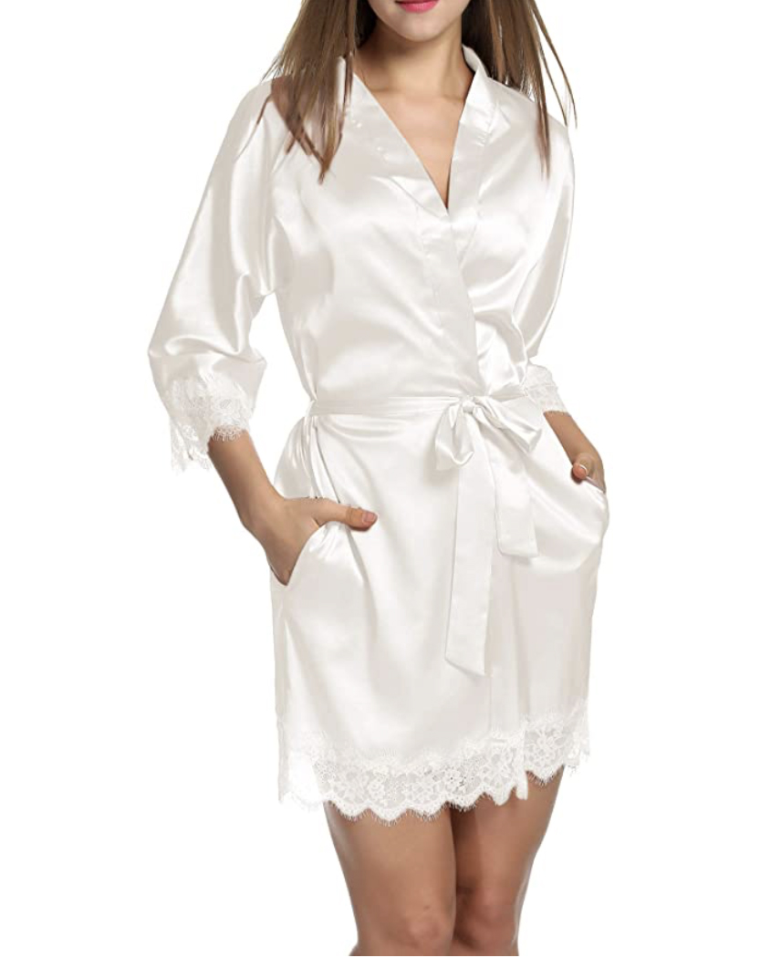 Hotouch Satin Robe